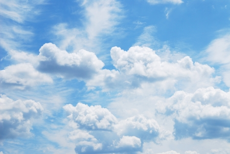 sky with clouds Stock Photo - 15605955