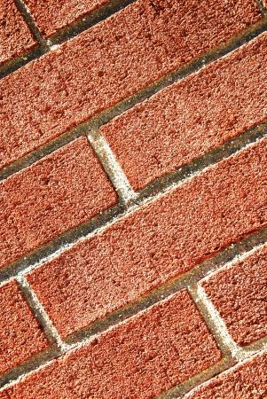 road surface: brick wall texture