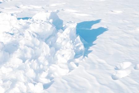 schnee textur: Schneebeschaffenheit