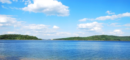 Lake on summer Stock Photo - 16607450