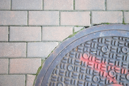 manhole cover photo