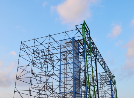 construction frame: Construction Site