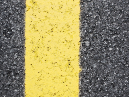 road surface: Yellow line