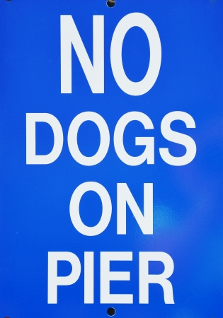 no dogs sign Stock Photo - 21790581