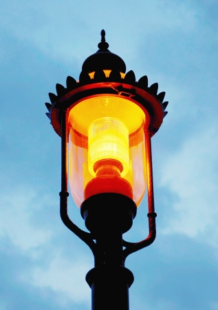 street lamp: old street lamp