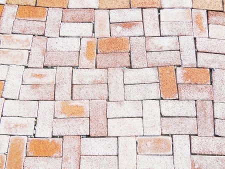 Old Brick footpath Stock Photo - 23016751
