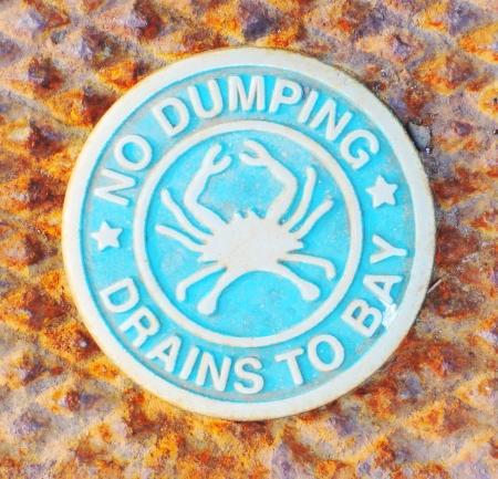 no dumping sign 版權商用圖片 - 23016809