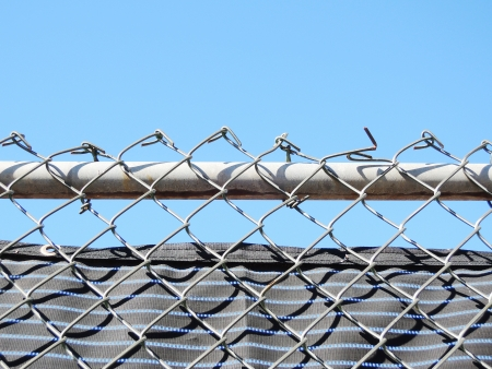 wire fence photo
