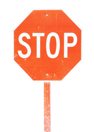reflect:                   Isolated image of stop sign with reflect surface