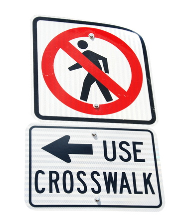 dont walk: Don t Walk Sign