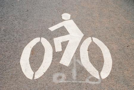 자전거 사인 스톡 콘텐츠 - 29600252