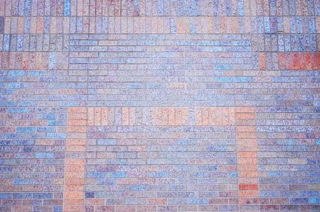 pave: brick wall Stock Photo