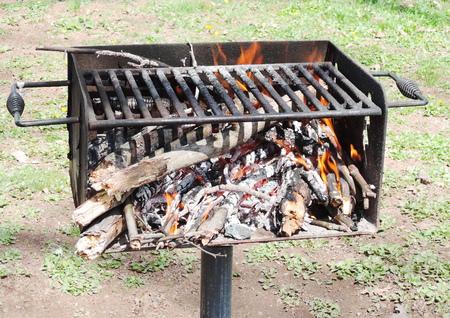 그릴: grill 스톡 사진