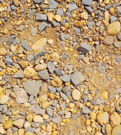 Crushed gravel