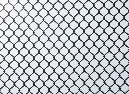 penal system: wire fence