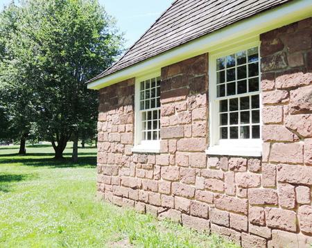 historical house photo