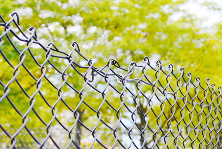 broken fence photo
