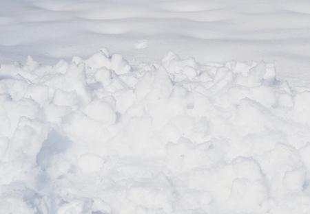 snowbanks: snow texture