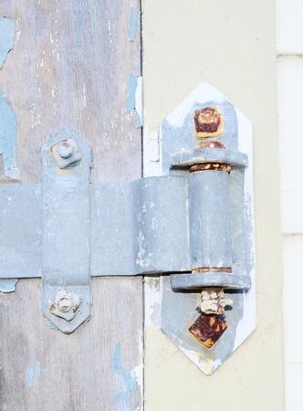 hinge: Old hinge Stock Photo