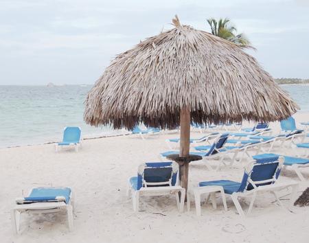 deckchair: Deckchair on the beach
