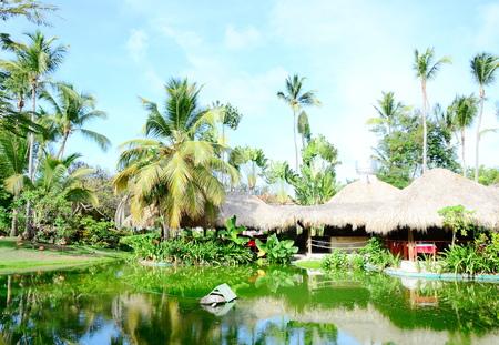 resort hut