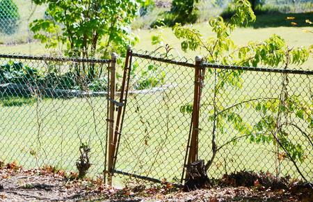 penal system: Broken fence