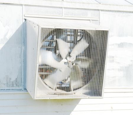 Ventilation on the greenhouse