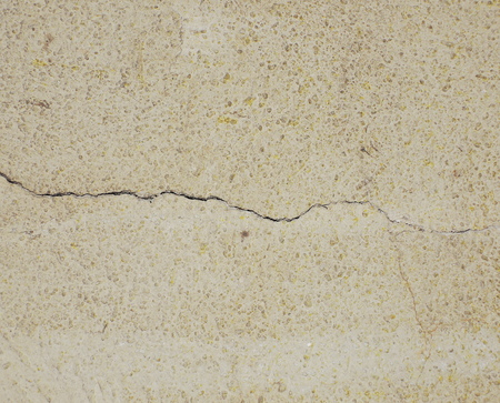 cracked: cracked wall
