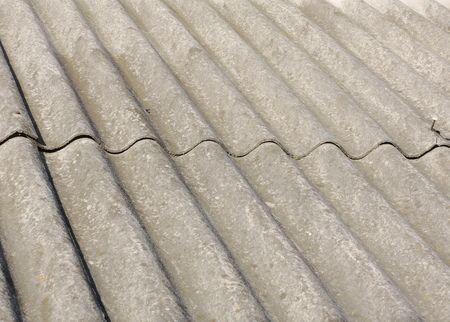 slate roof: slate roof Stock Photo
