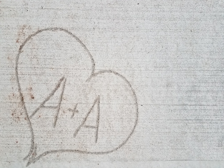 love heart with letter 版權商用圖片