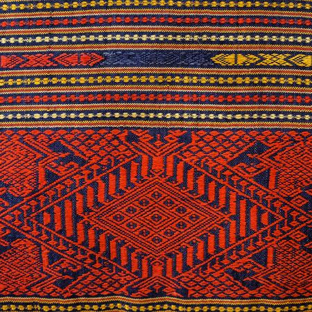 tejido de lana: Cierre de superficie de alfombra de estilo peruano colorido para arriba. Más de este motivo y más textiles en mi puerto.