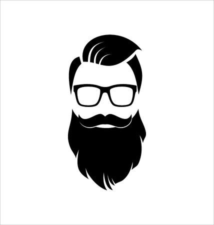 Hipster Coiffure Banque d'images - 49354197