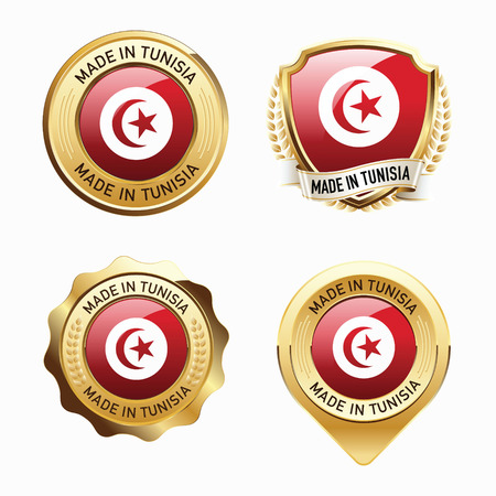 tunisia: Made in Tunisia. Illustration