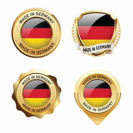 made in germany: Made in Germany. Illustration