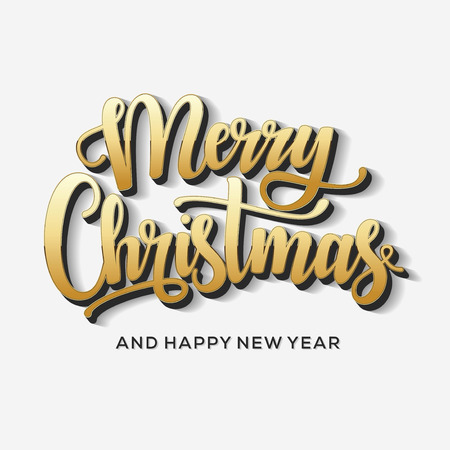 Merry Christmas and Happy New Year Card. Background. Xmas banner. 版權商用圖片 - 112514484