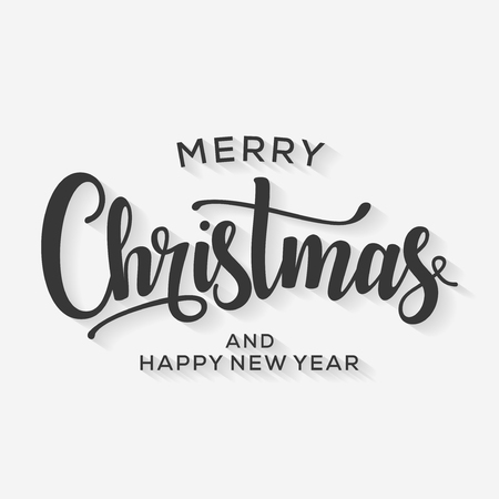 Merry Christmas and Happy New Year Card. Background. Xmas banner. 版權商用圖片 - 112514497