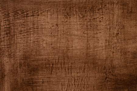 wooden board, painted brown paint photo
