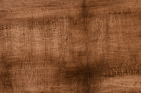 cranny: wooden board, painted brown paint