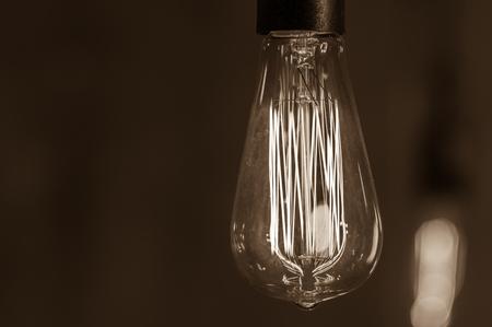 edison: Glowing lamp Edison