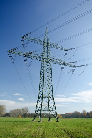 electrics: Utility pole with wires