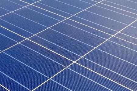 Polycrystalline solar cells photo