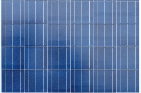 Texture of polycrystalline solar cells photo