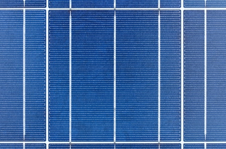 megawatt: Texture of polycrystalline solar cells Stock Photo