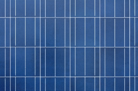 Texture of polycrystalline solar cells Stock Photo