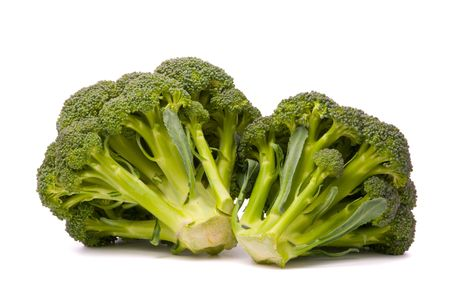 Fresh broccoli isolated over the white background Stock Photo - 7289553