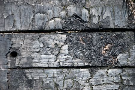 scorched: The scorched wooden background.  Stock Photo