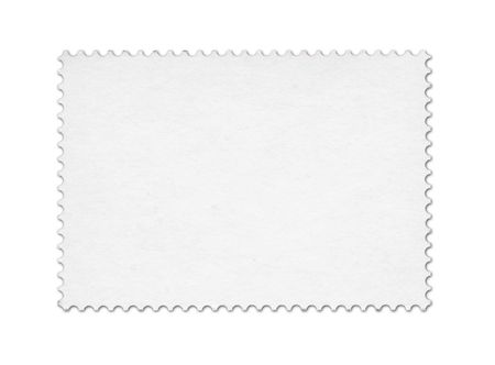 Blank post stamp scanned with high resolution Stock Photo - 7458614