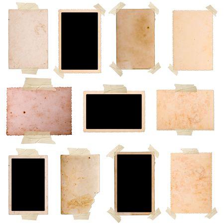 Vintage photo frames set 9, grote collectie