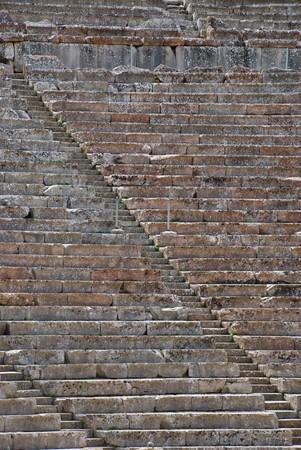 teatro antico: Vista alzato del teatro greco antico