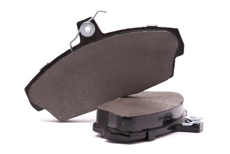 Brake pads on a white background Stock Photo - 7478061